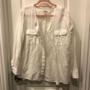 Talbots long sleeve button up